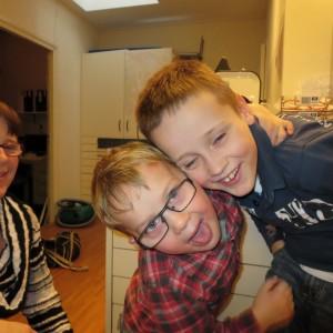 Kinderbrillen putten