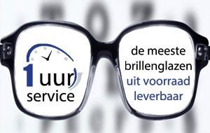 1 uur service bij Sluis Optiek en Optometrie